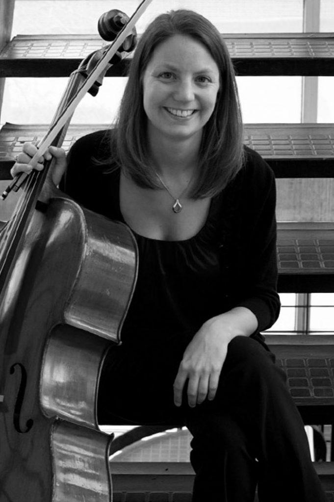 portrait of Maestro Makers cello instructor April Dannelly Schenk