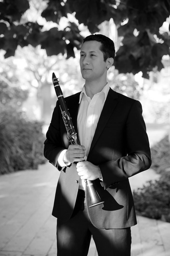 portrait of Maestro Makers clarinet instructor Ben Adler