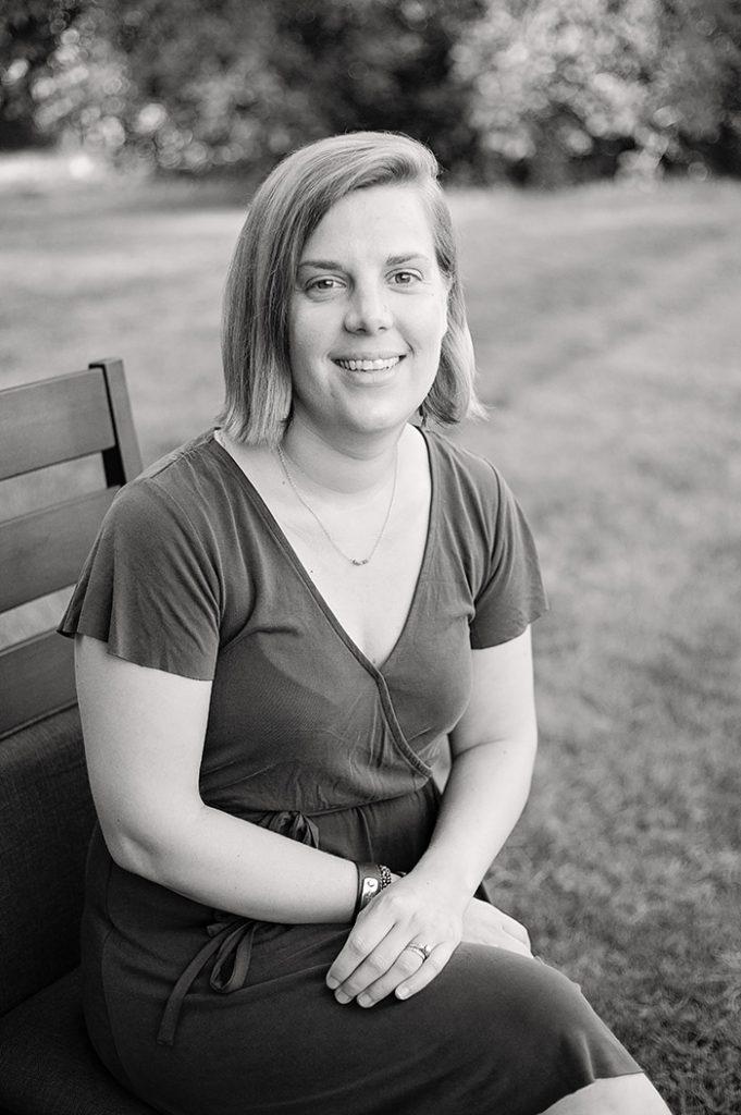 portrait of Maestro Makers associate director Christine Bergey