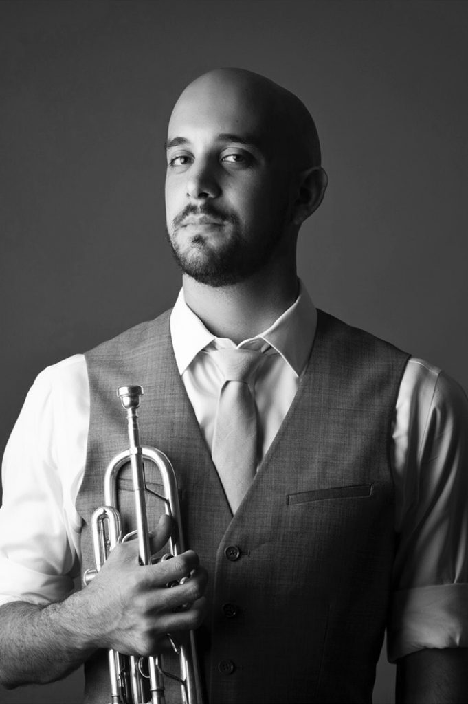 portrait of Maestro Makers trumpet instructor David Cohen