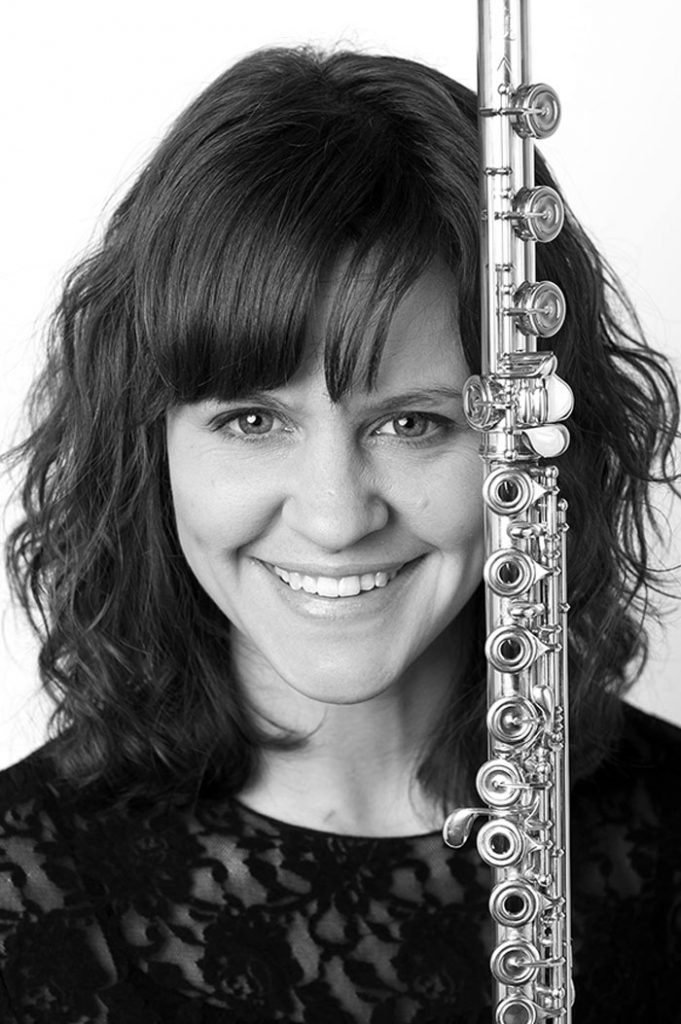 portrait of Maestro Makers flute instructor Emma Koi