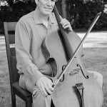 portrait of Maestro Makers cello instructor Paul Gronquist