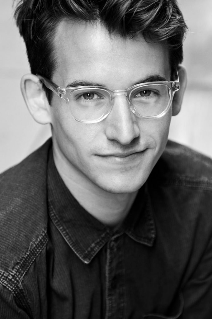 portrait of Maestro Makers voice instructor Brett Sweeney