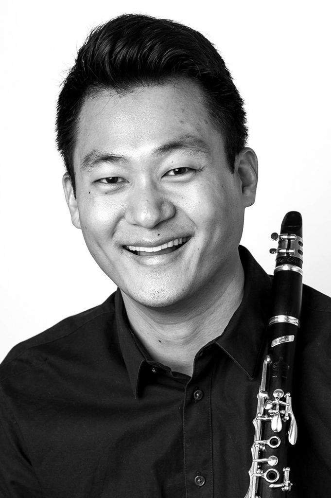 portrait of Maestro Makers clarinet instructor JJ Koh