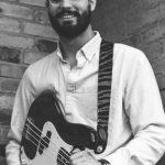 Portrait of Maestro Maker's guitar instructor, James Killian.